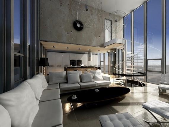 loft q projekty aranżacje wnętrz wnętrza mieszka�