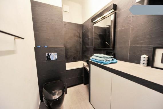 łazienka 35m2 Mieszkanie Warszawa Nowoczesne Mieszkanie