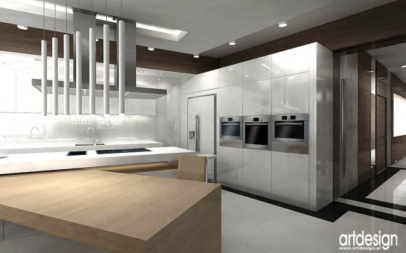 Nowoczesne Kuchnie Projekty Kuchnia Projekt Kuchni