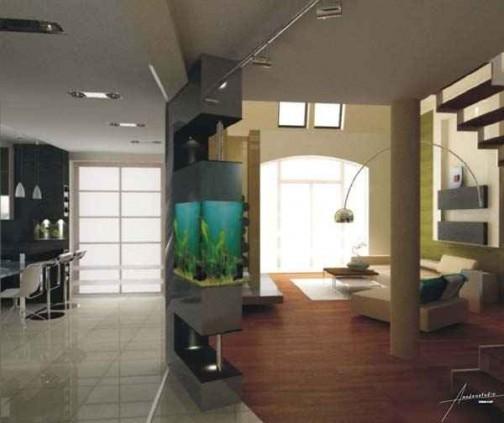 Salon » Sypialnia Z Salonem - Pomysły dekorowania wnętrza domu